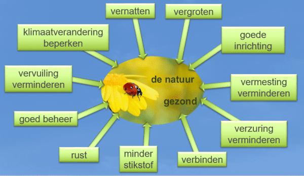 Maatregelen om de natuur weer gezond te krijgen en Basiskwaliteit Natuur te bereiken